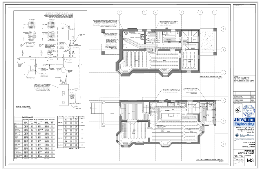 Hvac Drawings Amp Calculations For Residential Permit Ontario